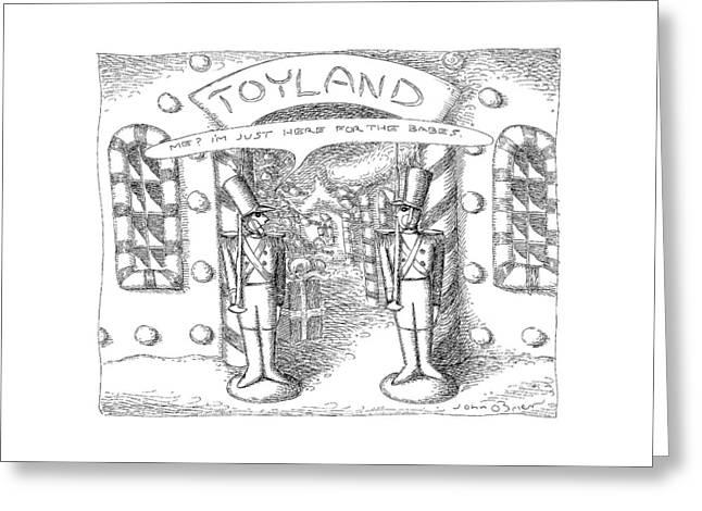 Toyland Greeting Card