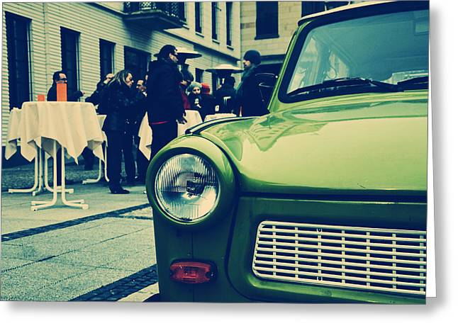 Trabant / Berlin Greeting Card by Gynt
