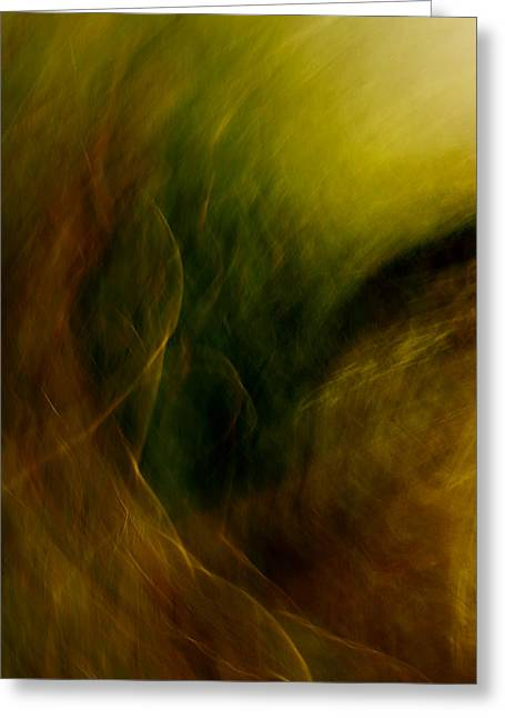 Traces Of The Wind Greeting Card by Mah FineArt