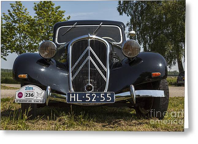 Traction Avant Greeting Card