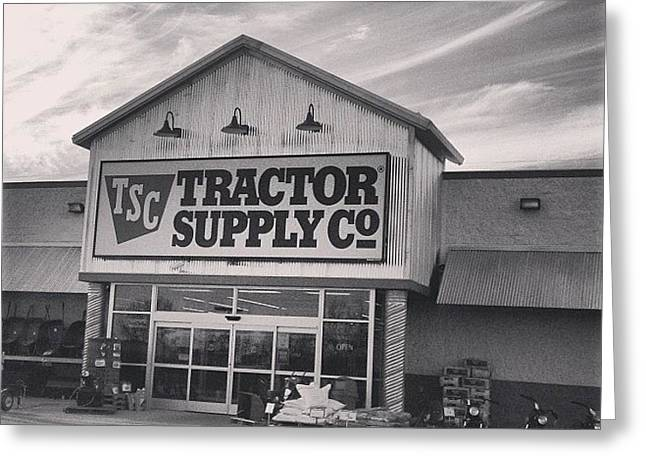Tractor Supply Store Greeting Card
