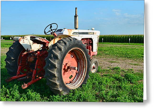 Tractor...comfort King Greeting Card