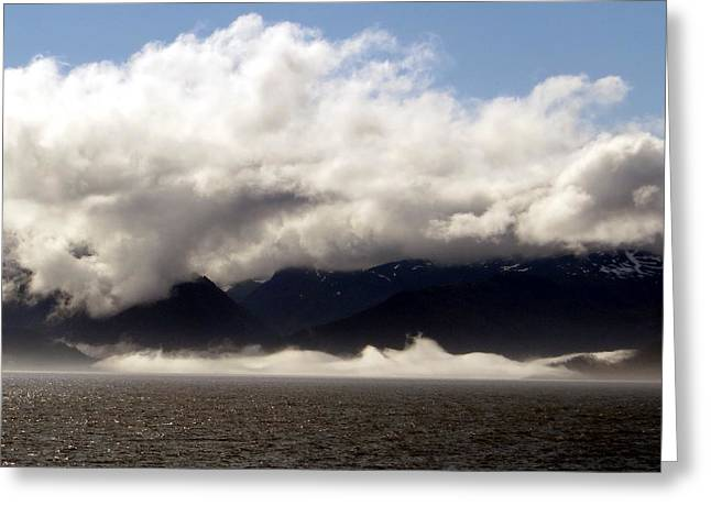 Greeting Card featuring the photograph Tracy Arm Fjord by Jennifer Wheatley Wolf