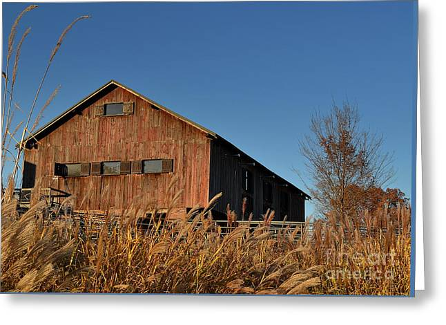 Traders Point Barn Greeting Card
