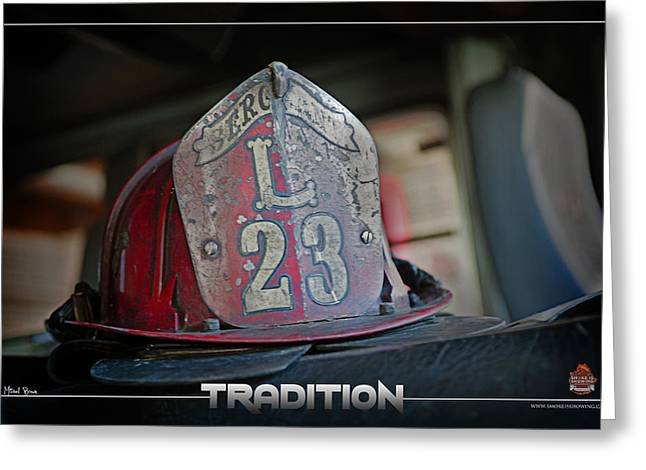 Tradition Greeting Card by Mitchell Brown