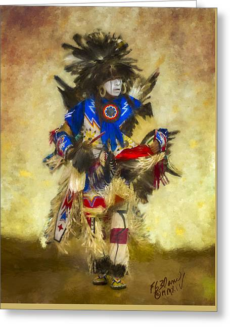 Tradition - Painting Greeting Card by F Leblanc