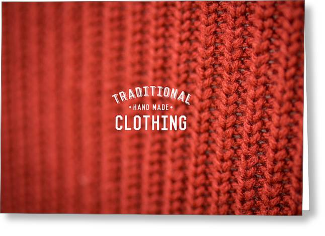 Traditional Clothing Greeting Card by Mike Taylor