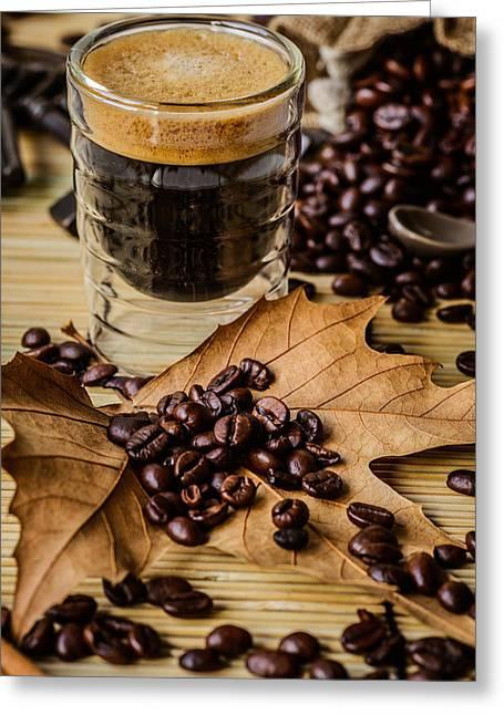 Traditional Espresso I Greeting Card