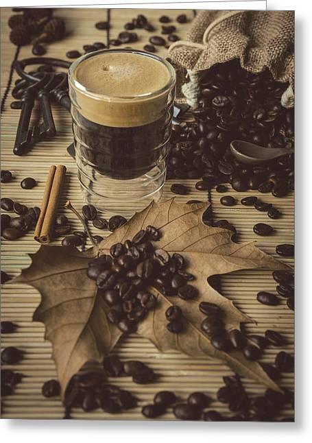 Traditional Espresso II Greeting Card