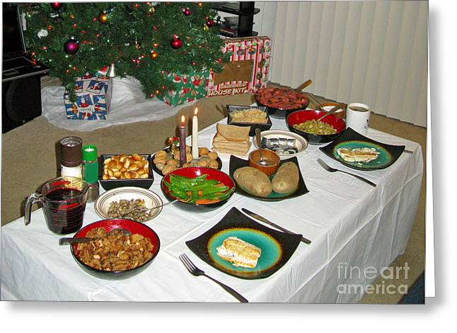 Traditional Lithuanian Christmas Eve Dinner With American Twist ...