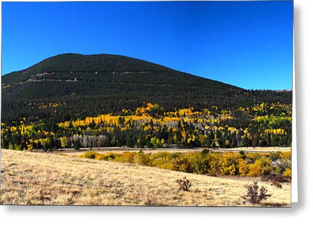 Trail Ridge Road - Panorama Greeting Card