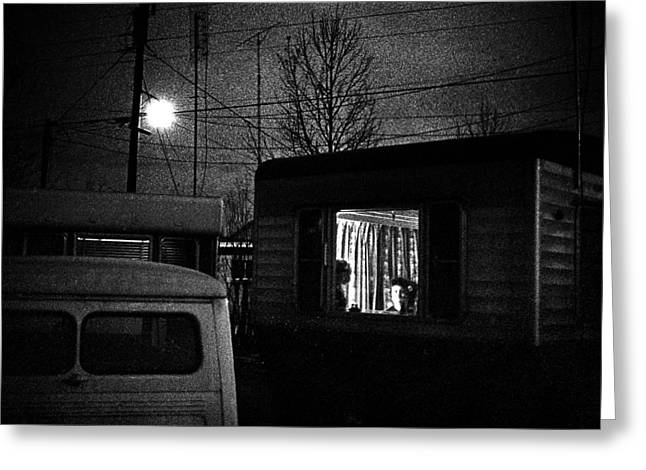 Trailer Home Greeting Card by Donald  Erickson