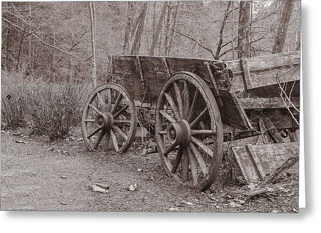 Trail's End Greeting Card by William Culler