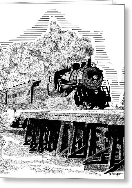 Train 1 Greeting Card