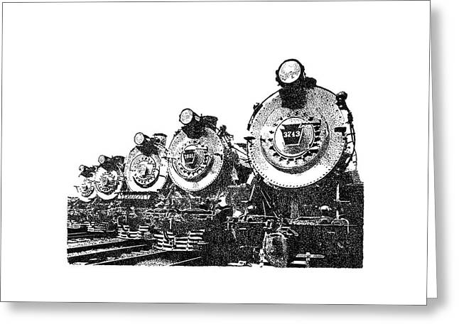 Train 2 Greeting Card