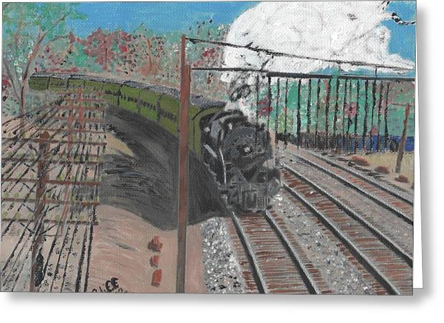 Train 641 Greeting Card