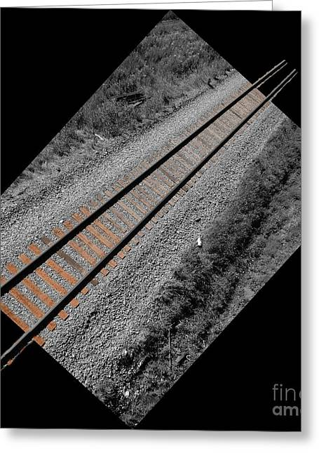 Train Bound For Nowhere Greeting Card by Al Bourassa