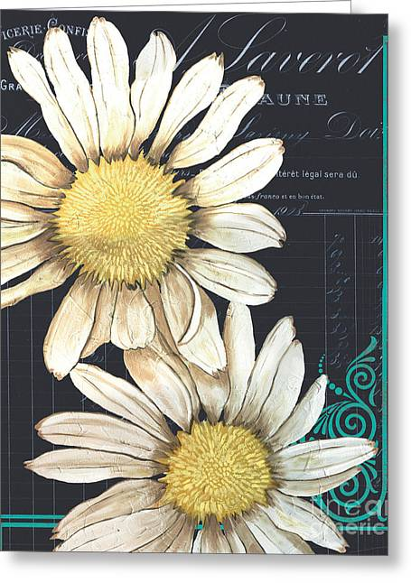Tranquil Daisy 1 Greeting Card by Debbie DeWitt