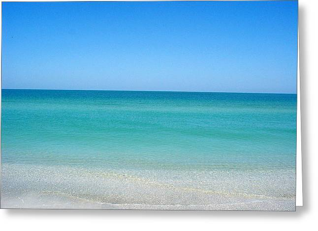 Greeting Card featuring the photograph Tranquil Gulf Pond by David Nicholls