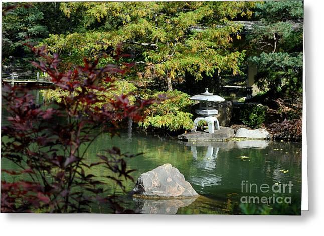 Tranquil Japanese Pagoda Greeting Card