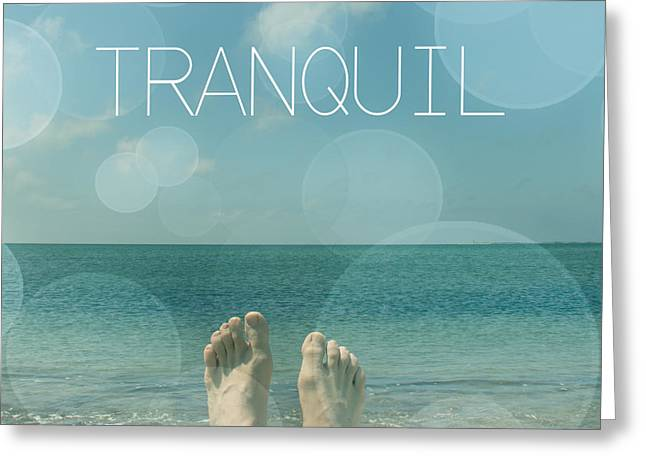 Tranquil  Greeting Card by Mark Ashkenazi