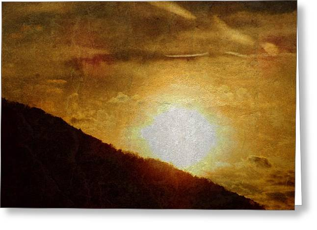 Tranquil Sunrise Greeting Card by Dan Sproul