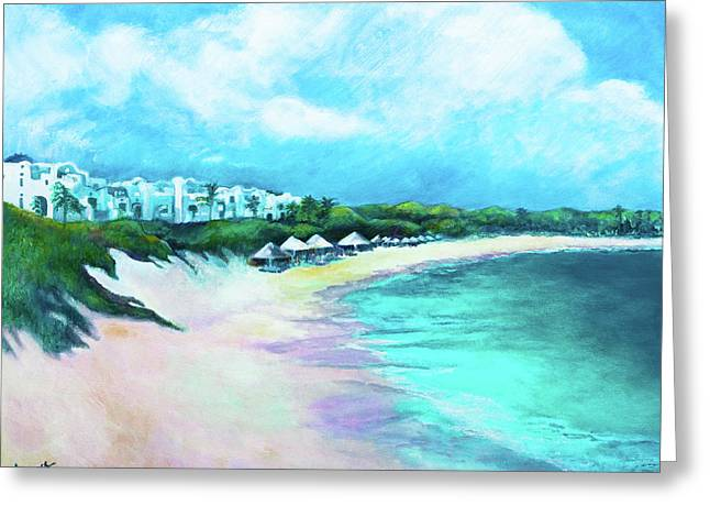 Tranquility Anguilla Greeting Card