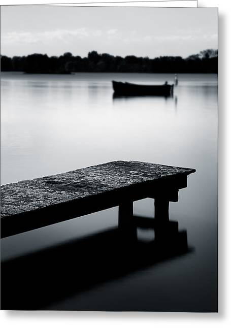 Tranquility Greeting Card by Dave Bowman