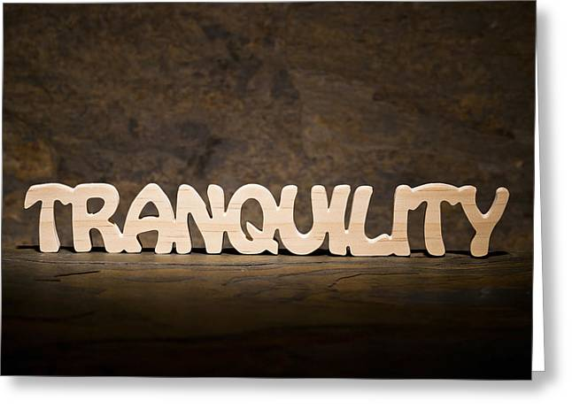 Tranquility Greeting Card by Donald  Erickson