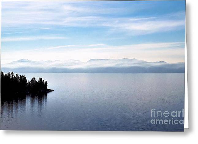 Tranquility - Lake Tahoe Greeting Card