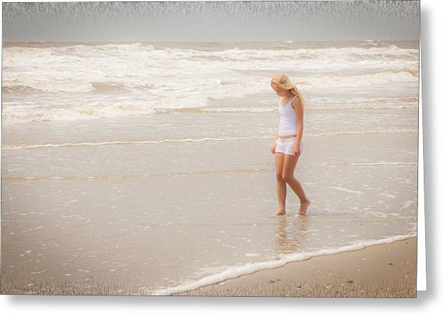 Greeting Card featuring the photograph Tranquility by Sennie Pierson