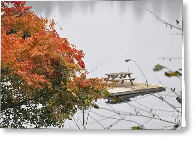 Tranquility Greeting Card by Tanya  Searcy