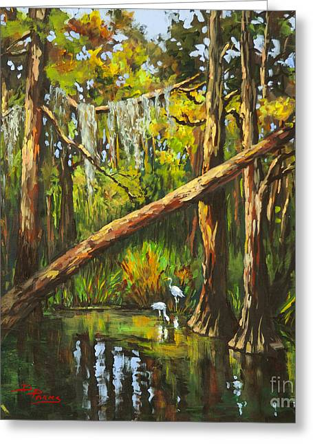 Tranquillity Greeting Card by Dianne Parks