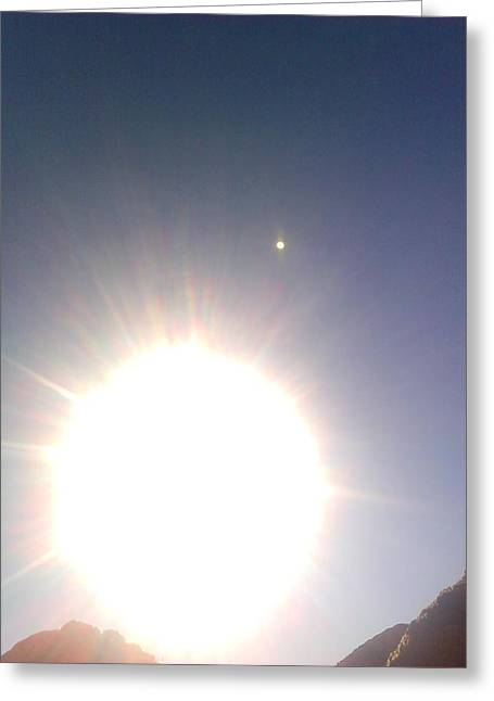 Greeting Card featuring the photograph Transit Of Venus 2012 by Rc Rcd