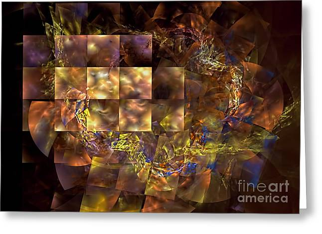 Translucence Greeting Card by Olga Hamilton