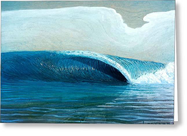 Transparent Sea Greeting Card by Nathan Ledyard