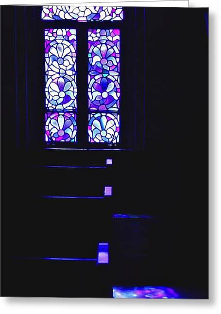Trappist Abbey Chapel Greeting Card by Tom Cruickshanks