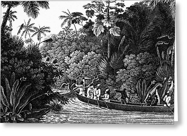 Travels In Brazil, 1820 Greeting Card by Granger