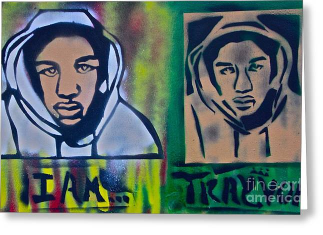 Trayvon Martin Greeting Card by Tony B Conscious