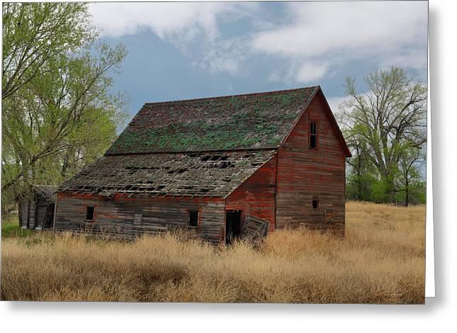 Treasure County Barn Greeting Card