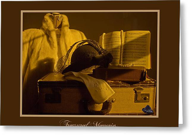 Treasured Memories Greeting Card by Gina Munger