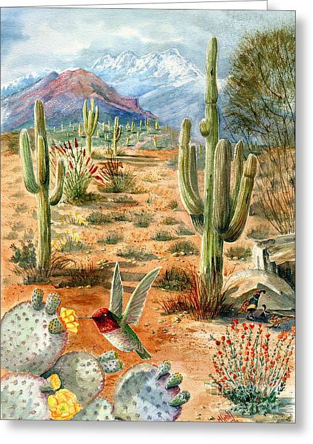 Treasures Of The Desert Greeting Card
