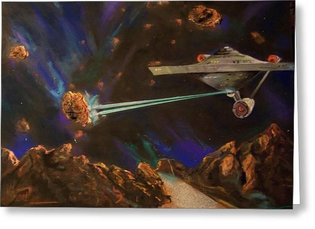 Trek Adventure Greeting Card
