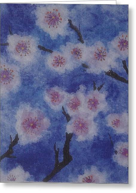 Tree Blossom Greeting Card by Catherine Arcolio