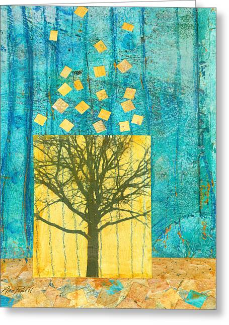 Tree Collage Greeting Card