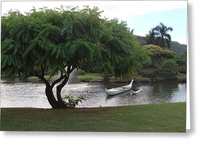 Tree Greeting Card by Dee  Savage