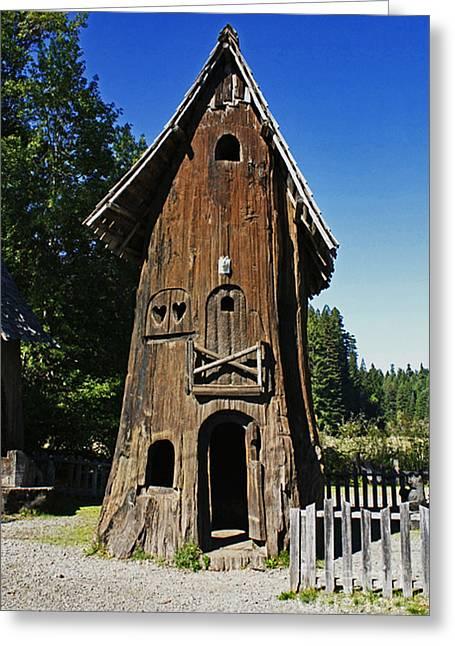 Tree House Greeting Card