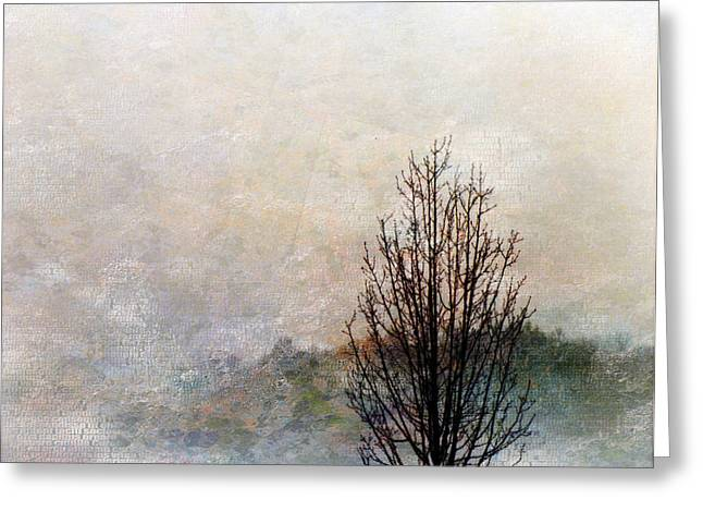Tree Impression Greeting Card by Bruce Rolff