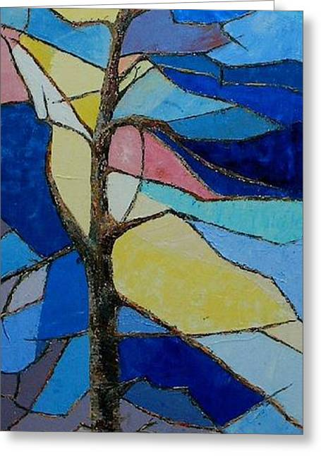 Tree Intensity - Sold Greeting Card