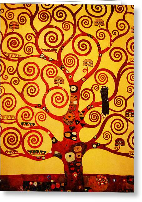 Tree Life Greeting Card by Celestial Images